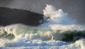 Big waves Jan 14