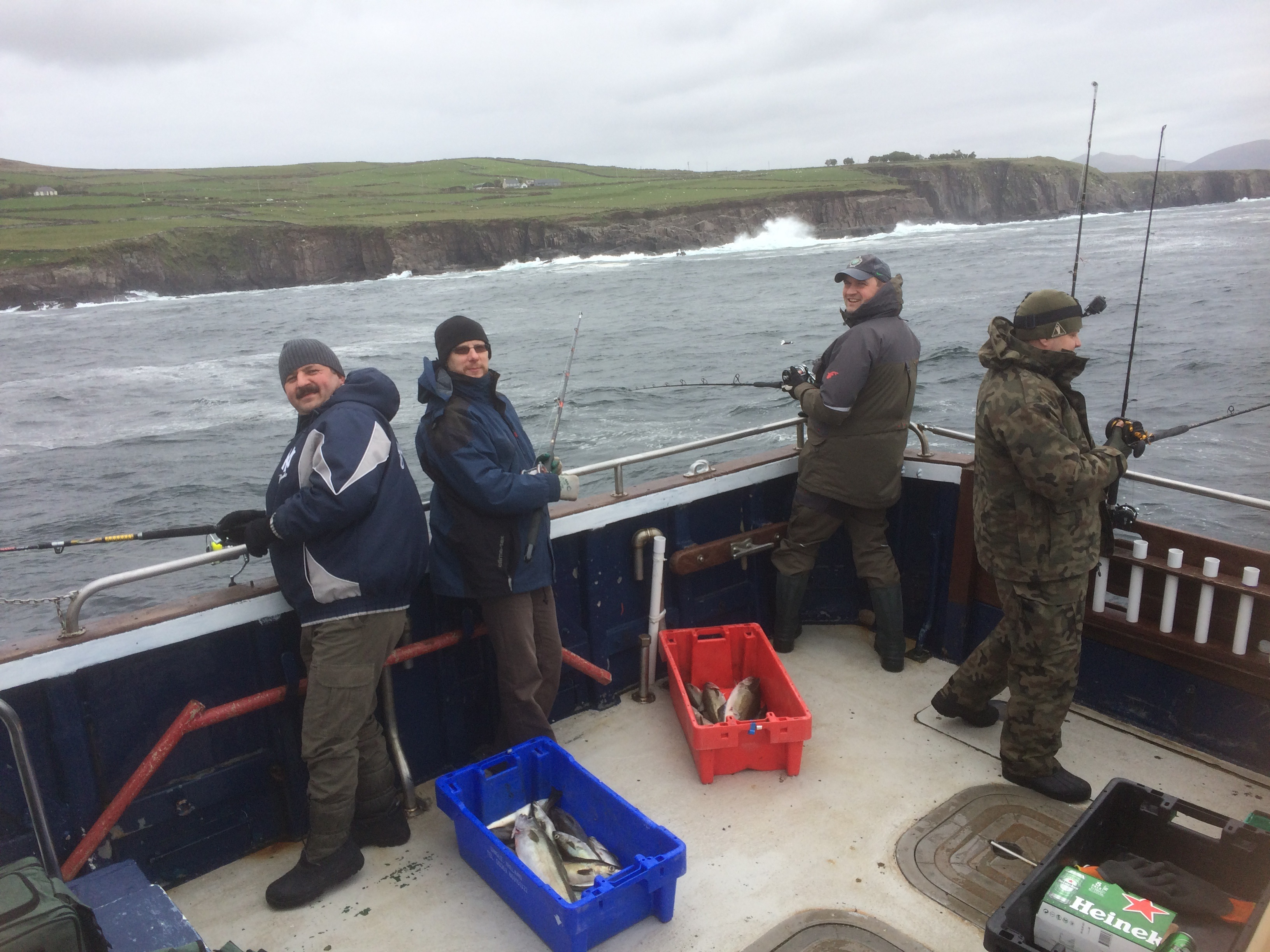 Fishing in Dingle Co Kerry