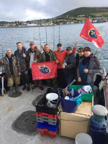 Munster Fans with a fishing problem!