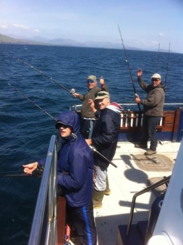 Happy fishers!